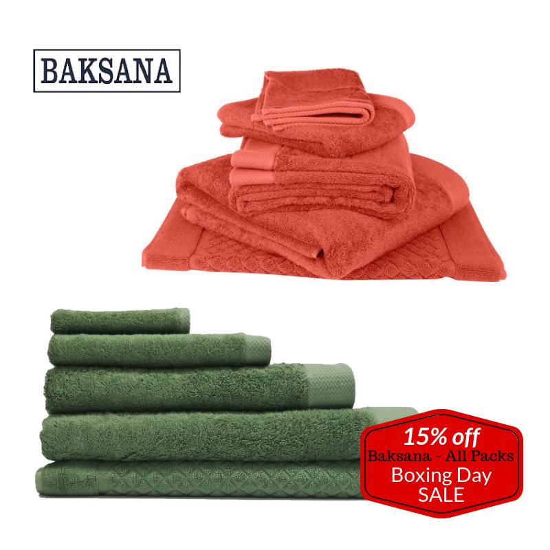 Baksana Towel Packs - 15% Off