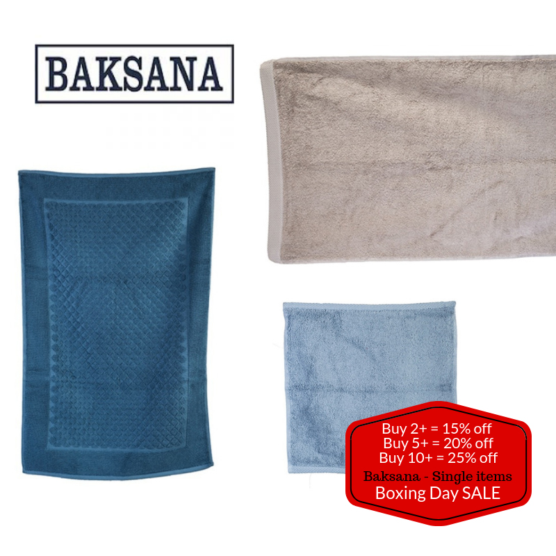 """Baksana Single Items - Tiered """"Mix & Match"""" Discount - Stock up in bulk & Save 15% - 25% Off"""