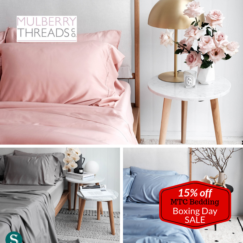 Mulberry Threads Co. Bedding - 15% Off