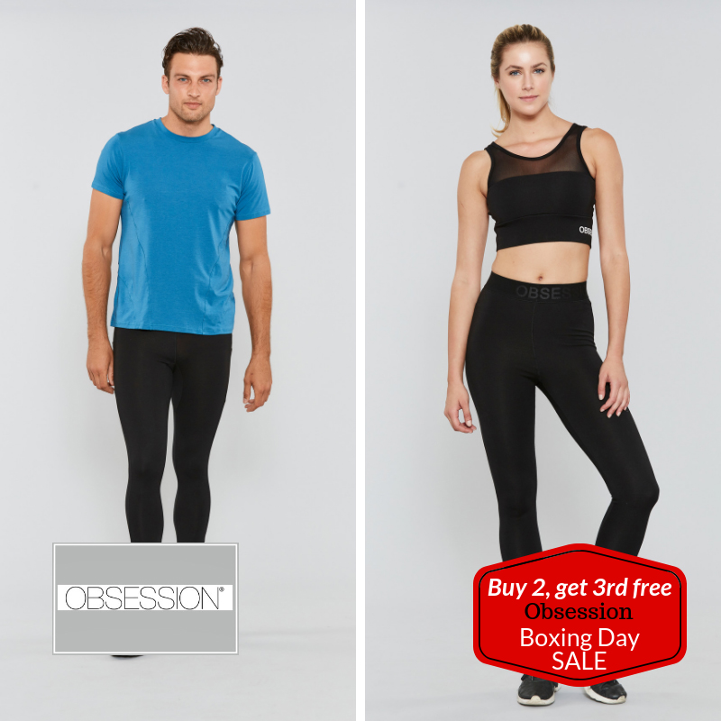 OBSESSION Activewear - Buy 2, Get the 3rd FREE